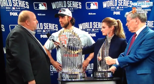 'Chevy Guy' won't lose his job after World Series blooper