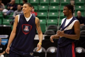 Photos: Arizona NCAA Tournament practice