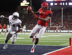 Arizona vs. Nevade college football