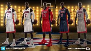 Photos: UA basketball's new uniforms