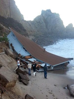 El huracán Marie trae marejadas a California