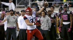 UA football: Wright a finalist for two major awards