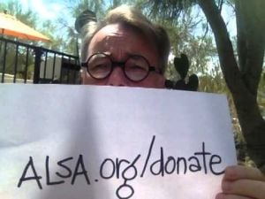 Video: Accept the ALS challenge