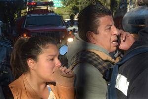 Sobrevivientes recuerdan miedo antes de explosión en México