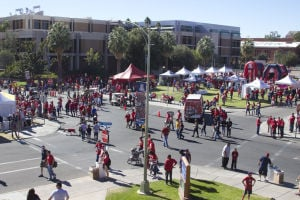 Watch: Arizona's fastest tailgate