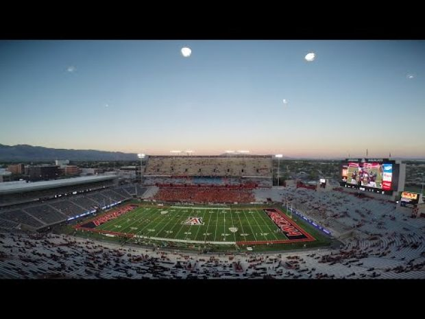 Watch Arizona Stadium fill up in time lapse