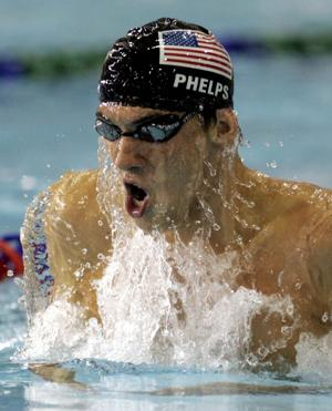 Photos: Olympic swimmer Michael Phelps