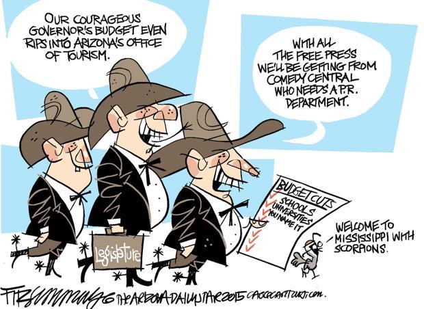 Daily Fitz Cartoon: budget