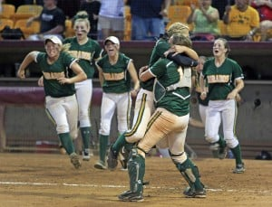 HS softball championship: Party time for Dorados