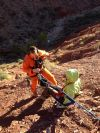 Grand Canyon-Hiker Rescue