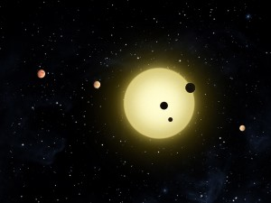 Tiny slice of sky swarms with possible planets