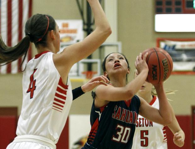 Photos: Sahuaro vs. Seton Catholic girls basketball