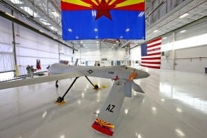Air Guard christens new home for Arizona drones