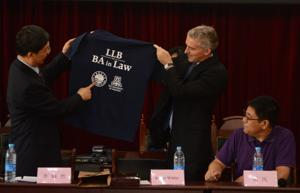 UA law school opens satellite site in China