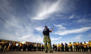 Fighting fire with ... preparation: Agencies gather in Oracle, north of Tucson, for training