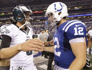 Skills to pay bills: Foles prevails over Luck