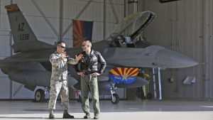 Air Guard jets to patrol skies over Super Bowl
