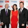 Piers Morgan, Erin Burnett, Anderson Cooper