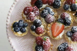Frame your Easter meal with an easy appetizer and dessert