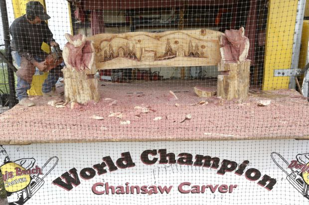 Butler county chainsaw carving invitational things to do