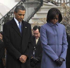 Obamas coming here for tribute