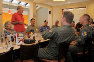 Airmen blog: D-M pilots have lunch with unique veterans