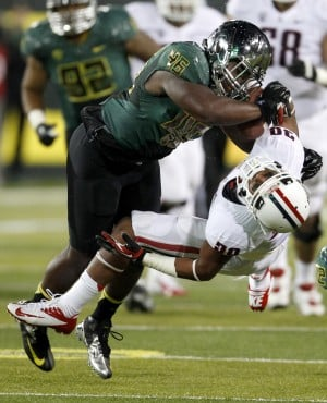 UA football: Ducks shut out Wildcats 49-0