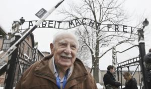 Sobrevivientes visitan Auschwitz 70 años después