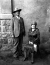 Sheriff Jim McDonald and Eva Dugan