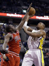 NBA Pacers top Chicago to share Central lead