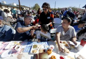 Photos: Thanksgiving Street Banquet
