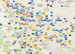 Tucson & Pima County crime map