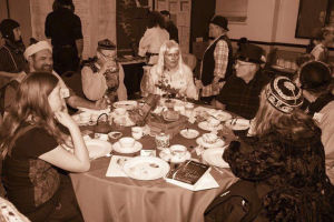 Sip, dunk, nibble at steampunk holiday tea