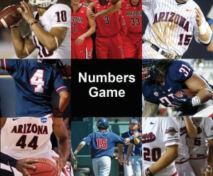 Arizona's Numbers Game: Dominant LB, softball great at UA at same time