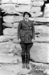 Polly Mead Patraw, first female park ranger at Grand Canyon National Park