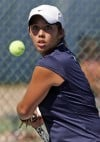 Tennis I-Ridge's two pairs make winning hand