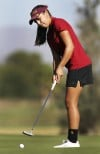 High school girls state golf Lancers run away with title