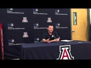Watch: Arizona baseball coach Johnson on upcoming season