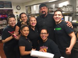 Celebrity sighting: Steven Seagal at westside restaurant