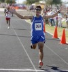 'Fastest I've ever run' gives Montaño title