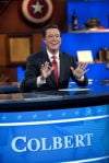 Stephen Colbert retiring his 'Report' and the host he played