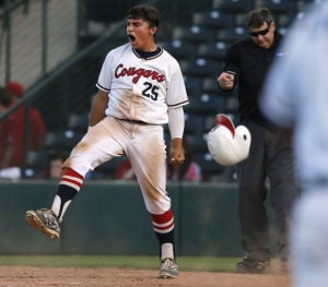 High school state baseball: Cougars claw closer to finals