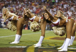 Photos: Preseason NFL cheerleaders