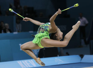 Photos: Rhythmic gymnastics world championships