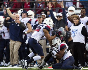 UA football: Denson capitalizes on opportunity