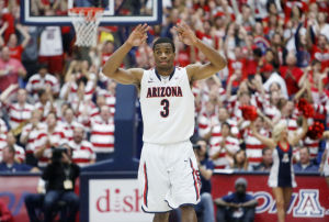Arizona basketball senior Kevin Parrom