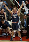 Top-seeded Arizona withstands No. 9 seed Gonzaga in 2 OTs in 2003 NCAA tournament