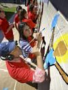 School mural intended to promote education
