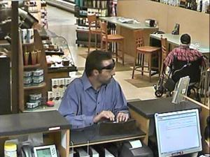Deputies searching for bank robbery suspect