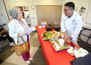 Event focuses on healthy living